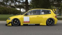 Honda Civic EG Tra Kyoto Body Kit