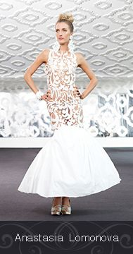 Made by Anastasia Lomonova out of Cashmere Bathroom Tissue for the 2015 White Cashmere Collection Bridal Edition in support of the Canadian Breast Cancer Foundation. The show this year focused on the hottest wedding trends and bridal silhouettes. @alomonova @cashmerecanada  http://www.anastasialomonova.com/