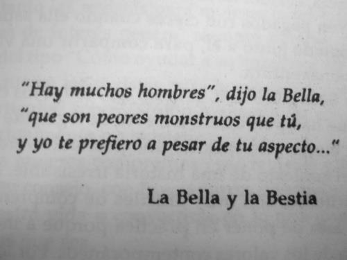 libro La bella y la bestia Frases geniales