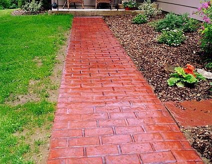 91 best images about outdoor living on pinterest for Faux brick edging