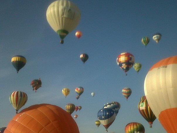 Feria del globo, León Gto