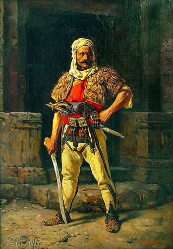 Authentic Albanian atterire from past centuries.