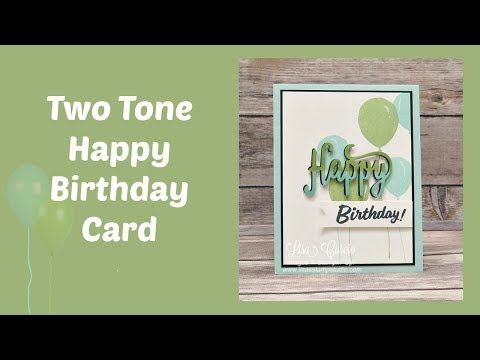 Check out that two-toned greeting!  Great video tutorial on how to create it.  Stampin' Up!, card, paper, craft, scrapbook, rubber stamp, hobby, how to, DIY, handmade, Live with Lisa, Lisa's Stamp Studio, Lisa Curcio, www.lisasstampstudio.com
