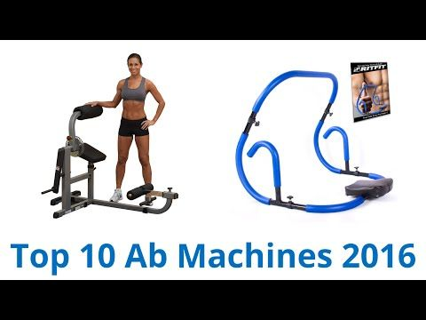 10 Best Ab Machines Review