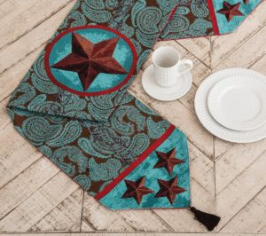 Western Themed Table Runners