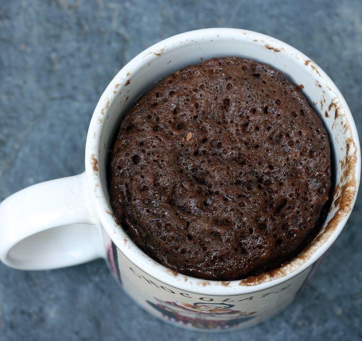 Gluten-Free Chocolate Mug Cake (in less than 5 minutes)