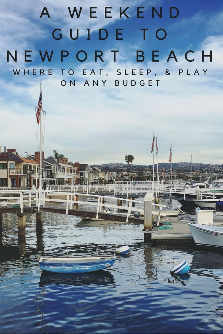Surf's up everybody! Time to head to Newport Beach for the weekend. Find out what to eat, where to stay, and what to do on any budget.