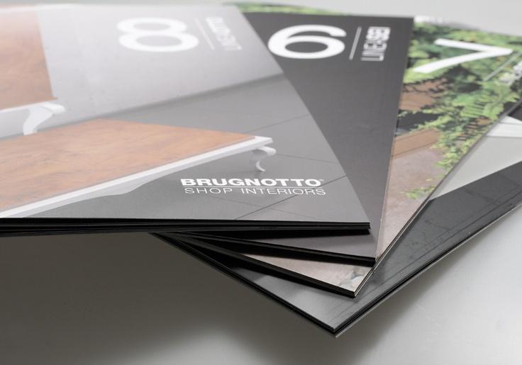 Artmosfera per BRUGNOTTO Shop Interiors – Cataloghi linee di produzione