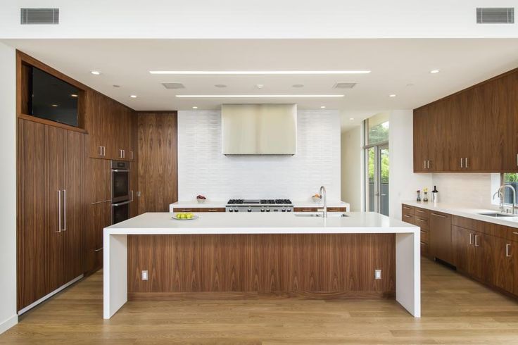 HGTV: Whitten Dunn Architects created a modern showplace, a home that embraces a minimalist aesthetic and lets in the world outside through retractable walls of windows.
