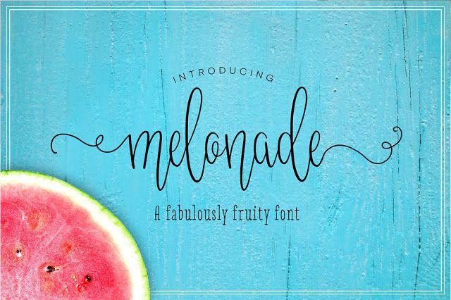 DLOLLEYS HELP: Melonade Free Font