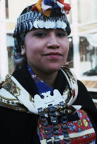 Mapuche Woman, Chile