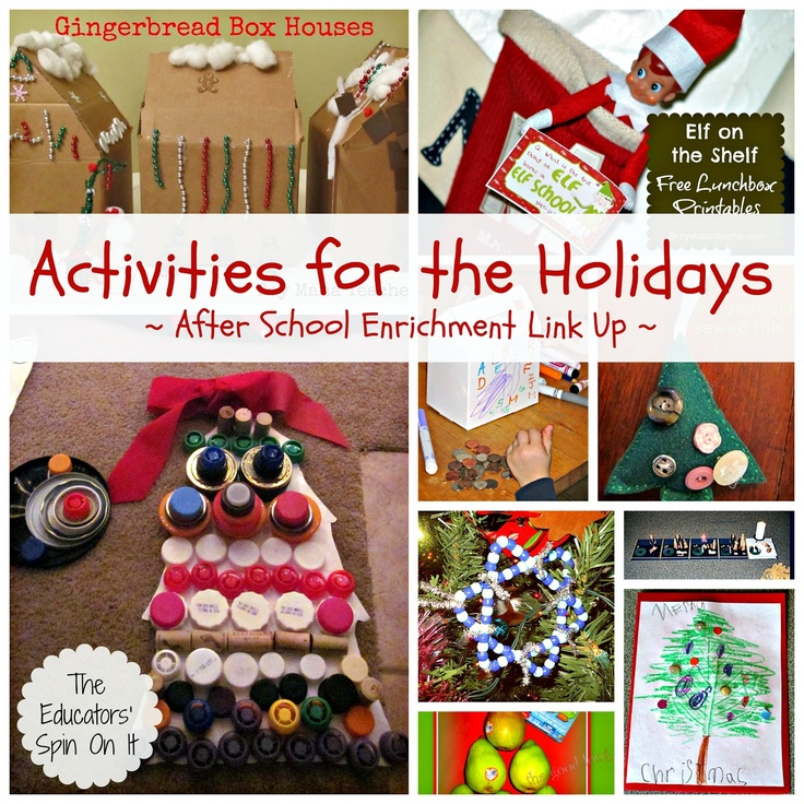 The Educators' Spin On It: Holiday Activities for Kids After School {Link Up}