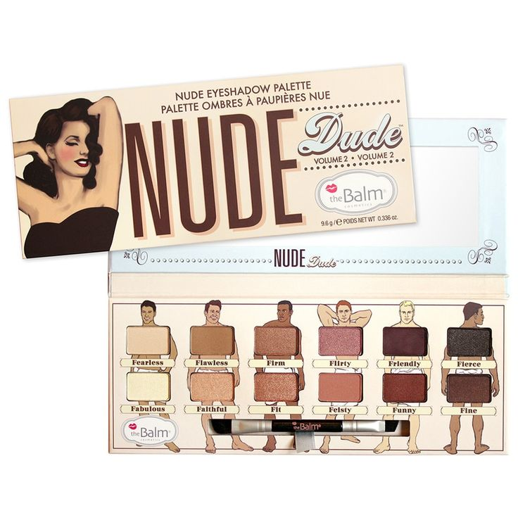 theBalm Make-up paletky Nude Dude PRODUCT