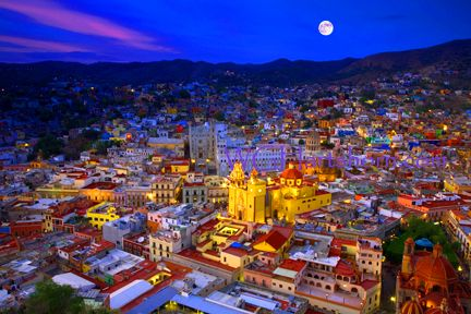 I stayed in the beautiful city of Guanajuato Mexico while I was attending college at East Texas State University. The city is just as colorful and vibrant as this picture shows!