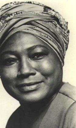 "Esther Rolle! ""I told them (the producers) I couldn`t compound the lie that Black fathers don`t care about their children. I was proud of the family life I was able to introduce to television."" -  referring to her show ""Good Times"" and her insistence on having a husband and father figure"" ~ The beautiful Esther Rolle"