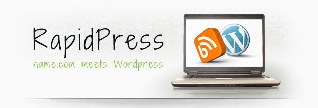 Create your blog instantly with RapidPress