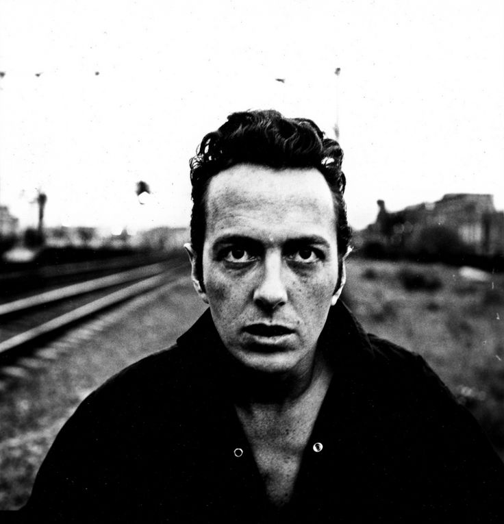 """Joe Strummer of the Clash - this iconoclast of """"The Only Band that ..."""