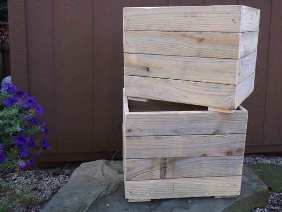 Items Similar To Wood Planter Box Flower Storage Mud Room On Etsy