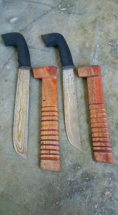 Golok sulangkar from baduy dalam tribe, banten, indonesia.