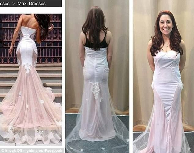 Wrong Fabric Wrong Colour Wrong Size Everything Is Wrong With Online Shopping Online Wedding Dress Online Shopping Fails Fashion