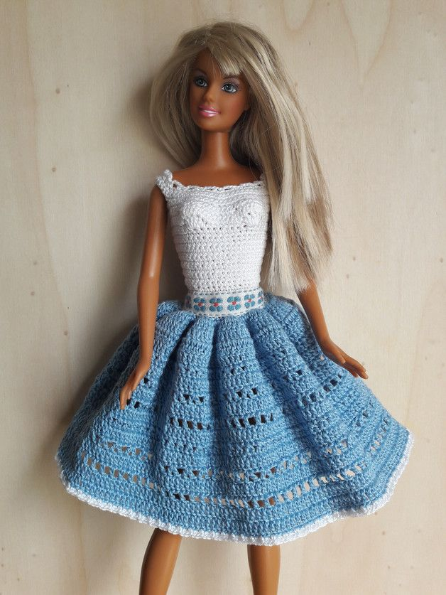 3482 best Barbie crochet images on Pinterest | Crochet barbie ...
