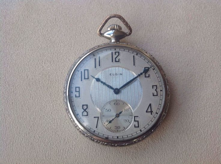 Elgin Pocket Watch, Made in USA