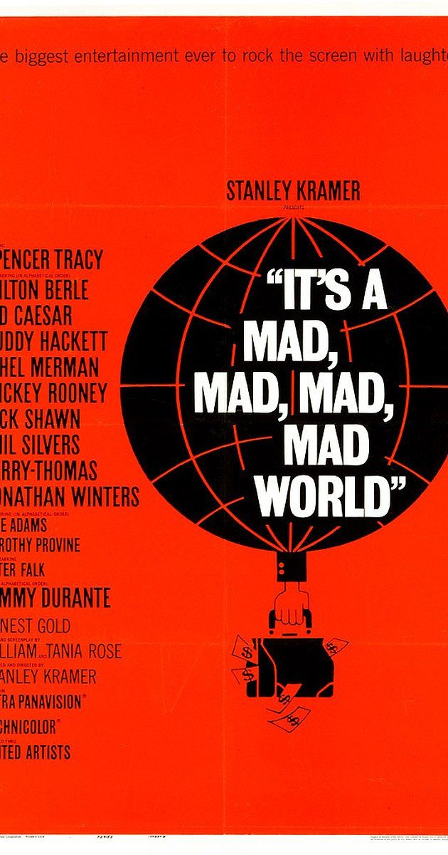 It's a Mad, Mad, Mad, Mad World (1963) Quotes on IMDb: Memorable quotes and exchanges from movies, TV series and more...