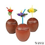 Coconut Cups. Got ours at the Dollar Store.