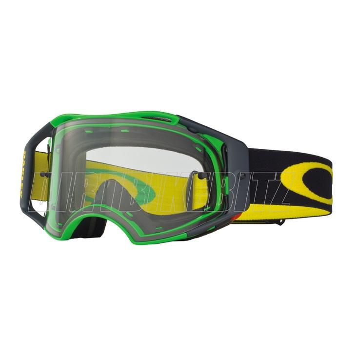 2013 Oakley Airbrake Mx Goggles - Green Yellow Retro Speed Airbrake Goggle - 2013 Oakley Airbrake Mx Goggles - 2013 Motocross
