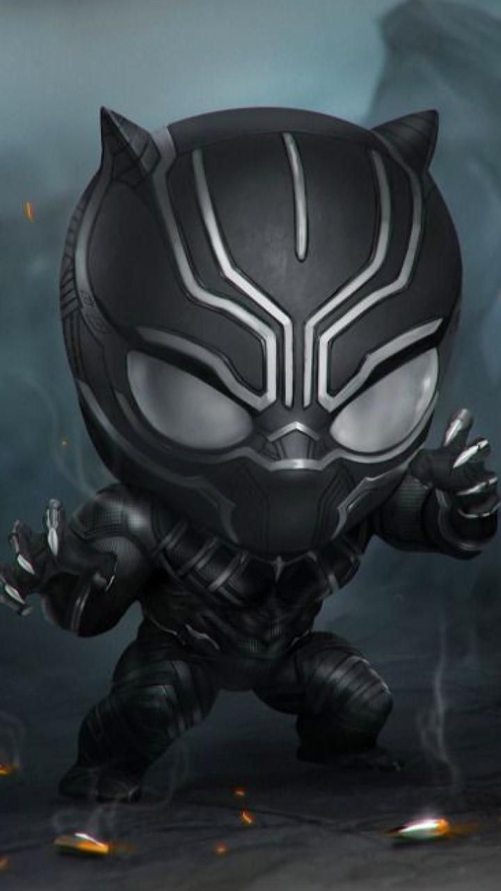 Download Black Panther Wallpaper By Georgekev 87 Free On Zedge Now Browse Millions Of Popular Black Wallpapers An Chibi Marvel Black Panther Marvel Chibi