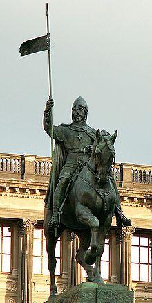 Saint Venceslas Ier de Bohême.  #Prague #Tchequie #Czechia