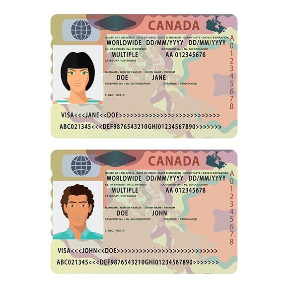Canada Style Passport Visa Sticker Passport Template Passport Online British Passport