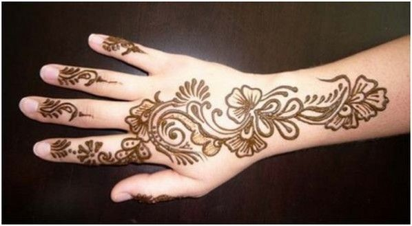 Simple Mehndi Design Collection 2013.