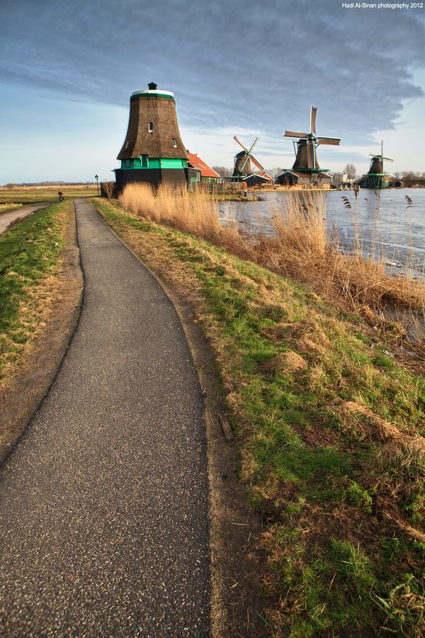 Zaanse Schans, a small village in the suburbs of Amsterdam, The Netherlands