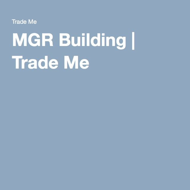 MGR Building | Waianae Trade Me