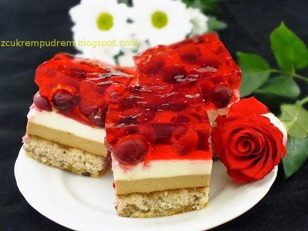 """z cukrem pudrem: ciasto """"Kawowa Wisienka"""""""