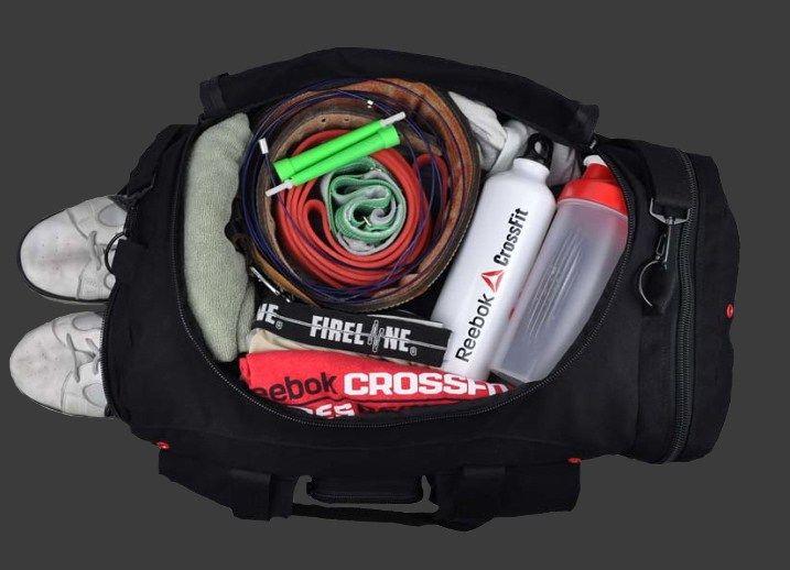 un sac de crossfit pour la competition