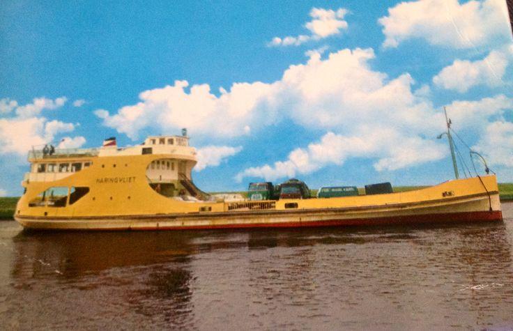 Veerboot Middelharnis - Hellevoetsluis.1956 - 1971