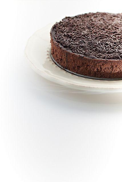 triple chocolate mascarpone cheesecake