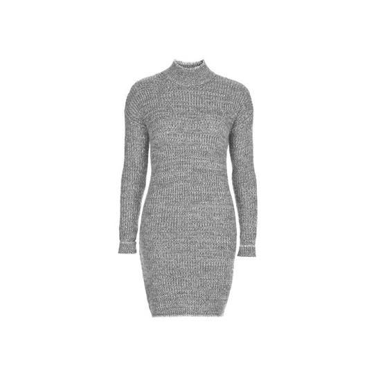 Topshop roll neck sweater dress