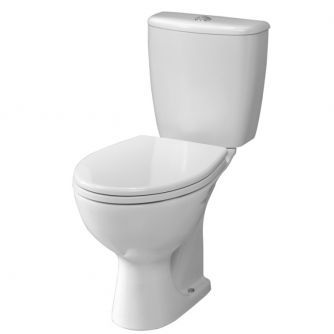 Twyford Alcona Toilet- Cistern and Seat Bottom Outlet