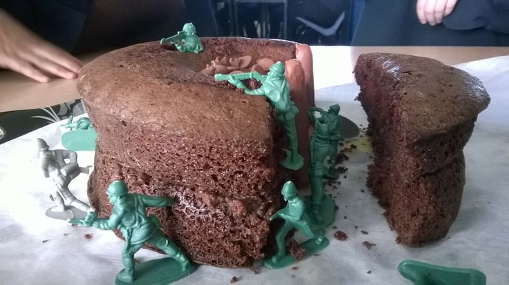 Trench Made Out Of Cake