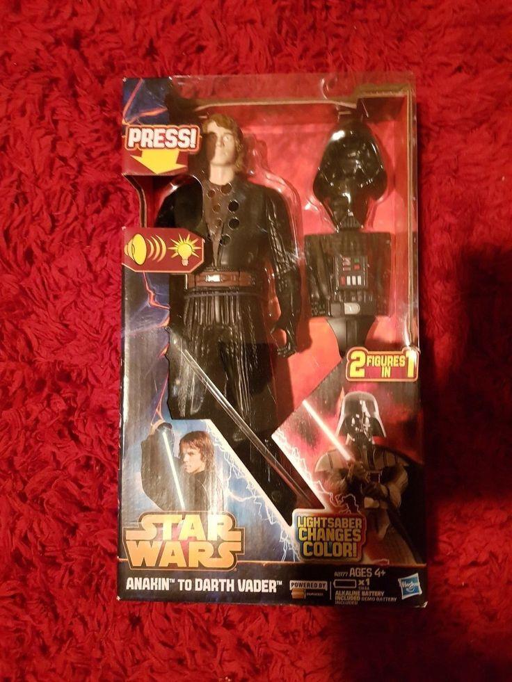Star Wars Anakin to Darth Vader Action Figure [Toys, Hasbro, Lightsaber] NEW