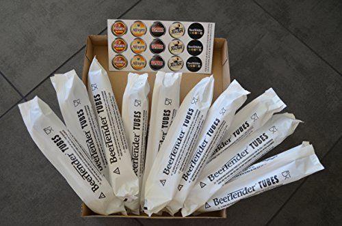 10 tubes Beertender (chez vous en 48h en colissimo) pour machine à biere Seb ou Krups: Lot de 10 tubes neufs et emballés service rapide Cet…