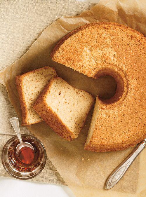 Gâteau des anges à l'érable Recettes | Ricardo