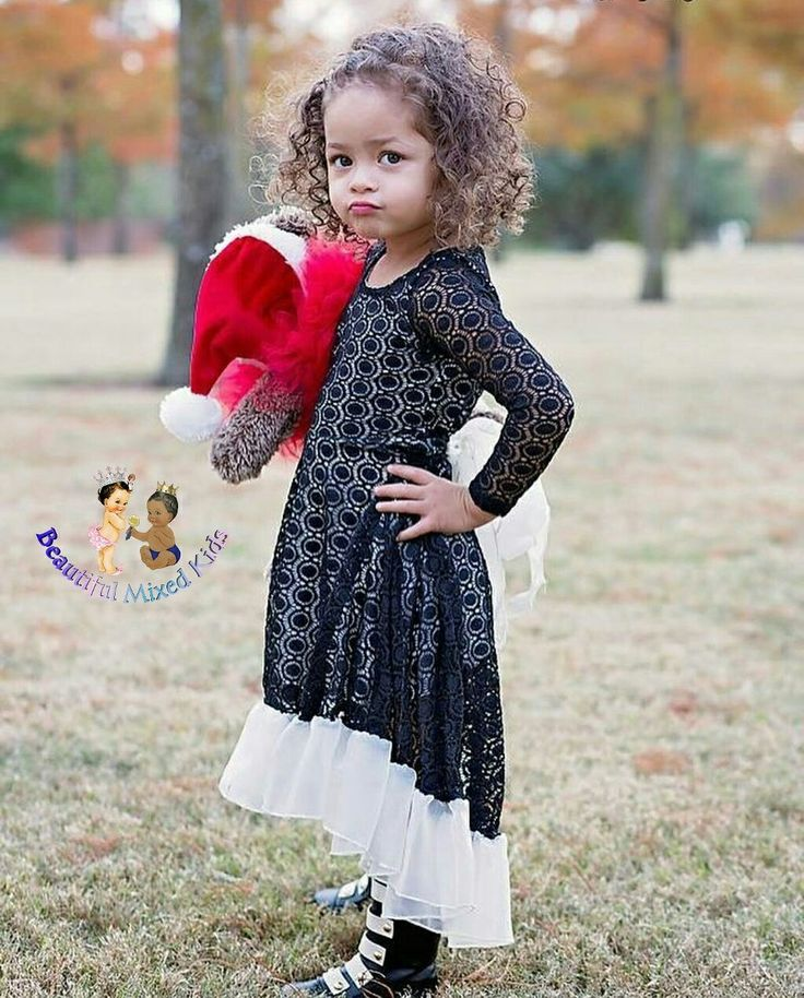 Carter Delilah - 3 Years • Dad: African American & Mexican • Mom: African American & Caucasian ❤