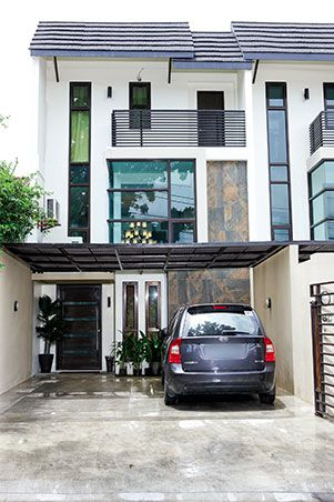 Before finding this three-storey townhouse, the Little Miss Philippines  winner once lived with
