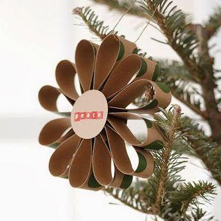 voor in de kerstboom