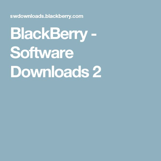 blackberry 9300 pc suite  for windows 7