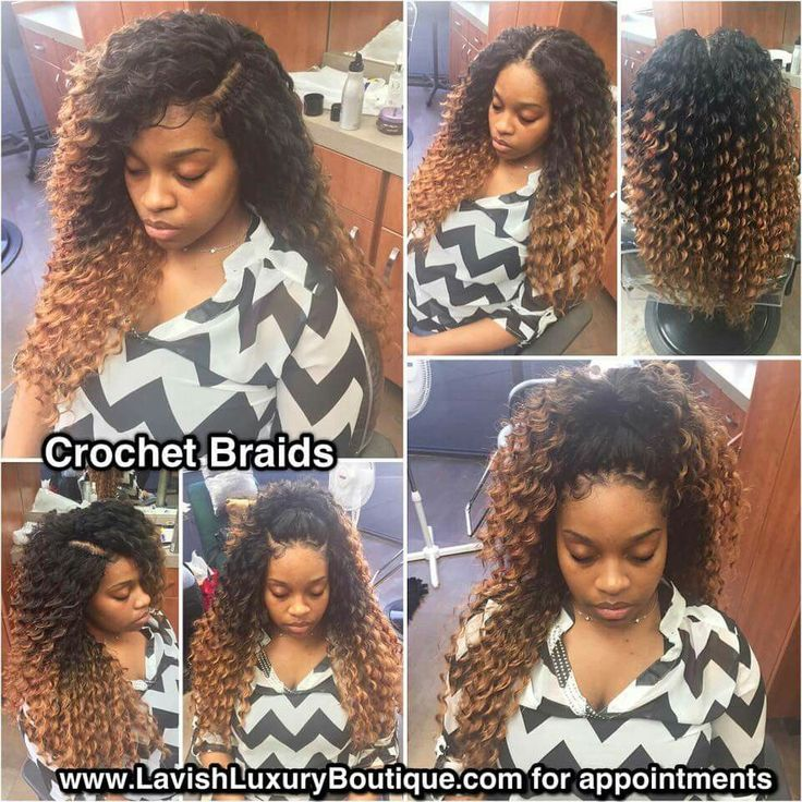 Crochet Braids With Edges Out : ... Pinterest Protective styles, Crotchet braids and Senegalese twists
